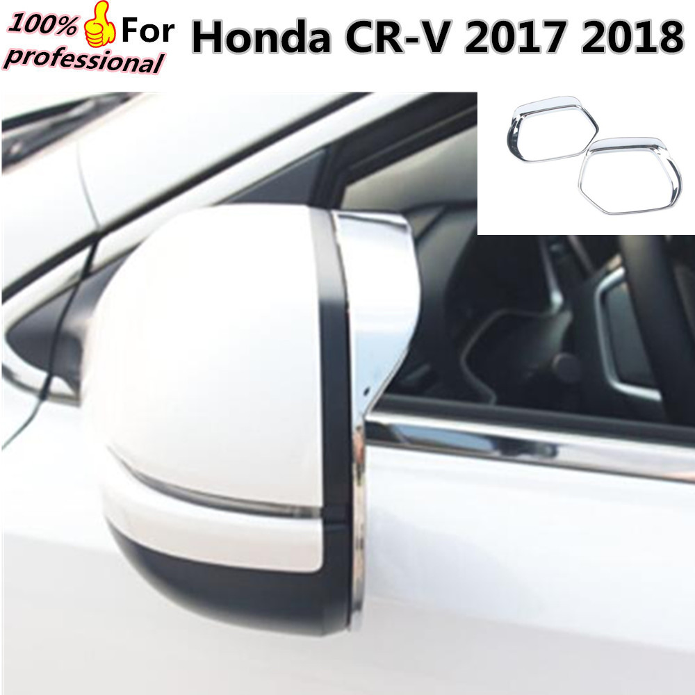 For Honda CRV CR V 2017 2018 font b Car b font body stick rear Rearview