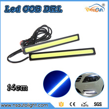 2PCS/pair Ultra-thin 20W COB Chip 14CM LED Daytime Running Light LED DIY DRL Fog lights turning parking light Waterproof