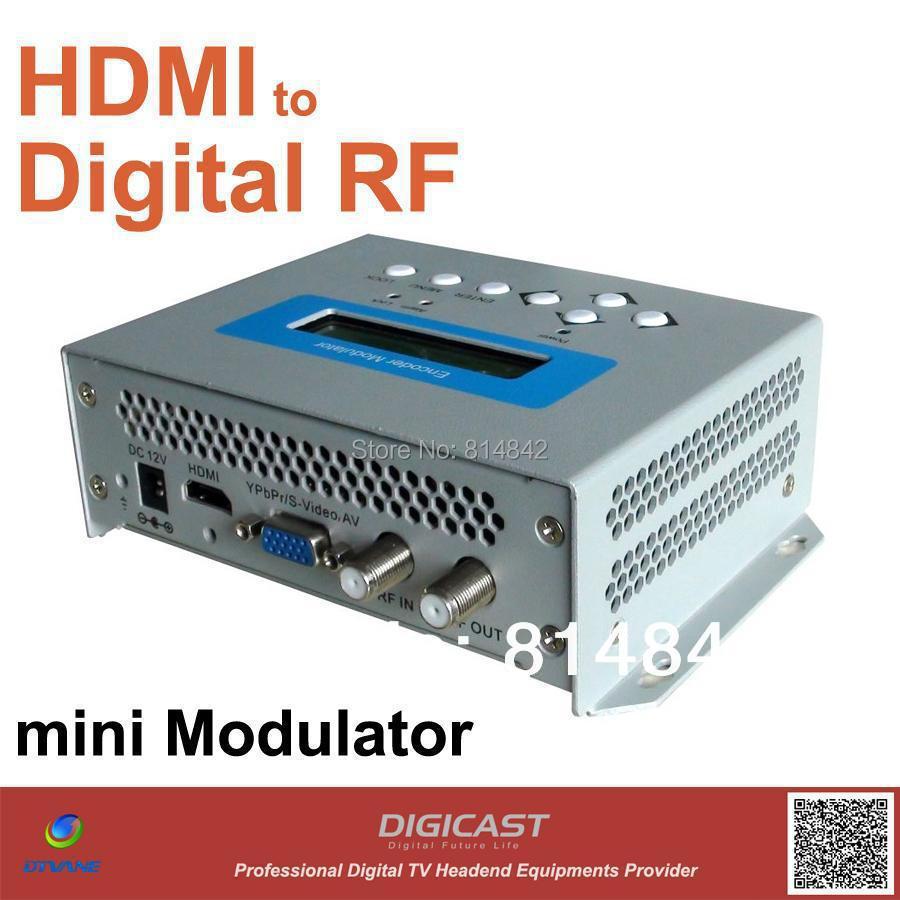 HD H 264 Mini Encoding & Modulator (DMB 9591H), turn your