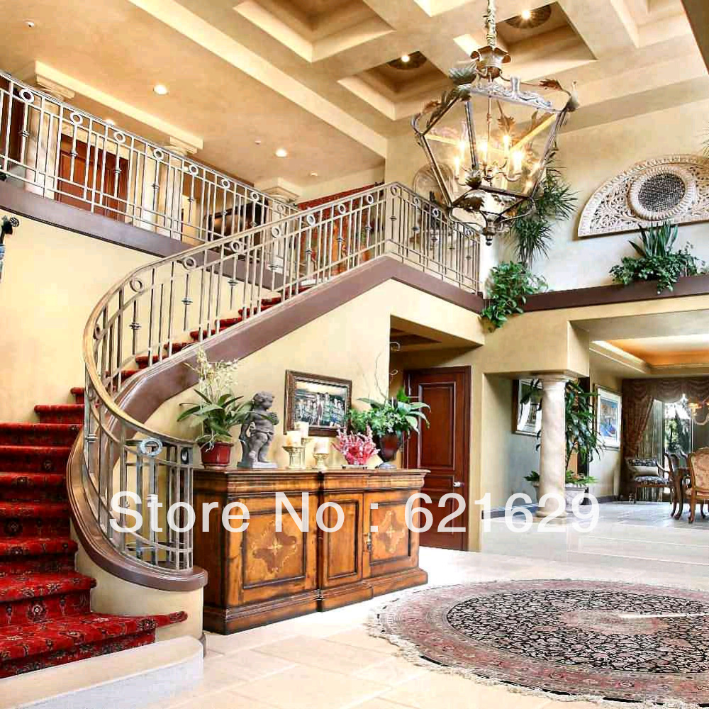 Fancy house hall 10x10 cp computer painted scenic photography background photo studio backdrop zjz 668