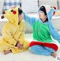 Children Kids Boys Girls Pajamas Unisex Cosplay Animal Onesie Playsuits Pikachu