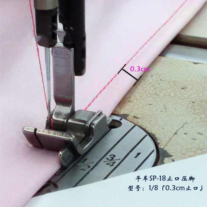 1 pieces Industrial sewing machine full steel RIGHT & WIDE presser foot,