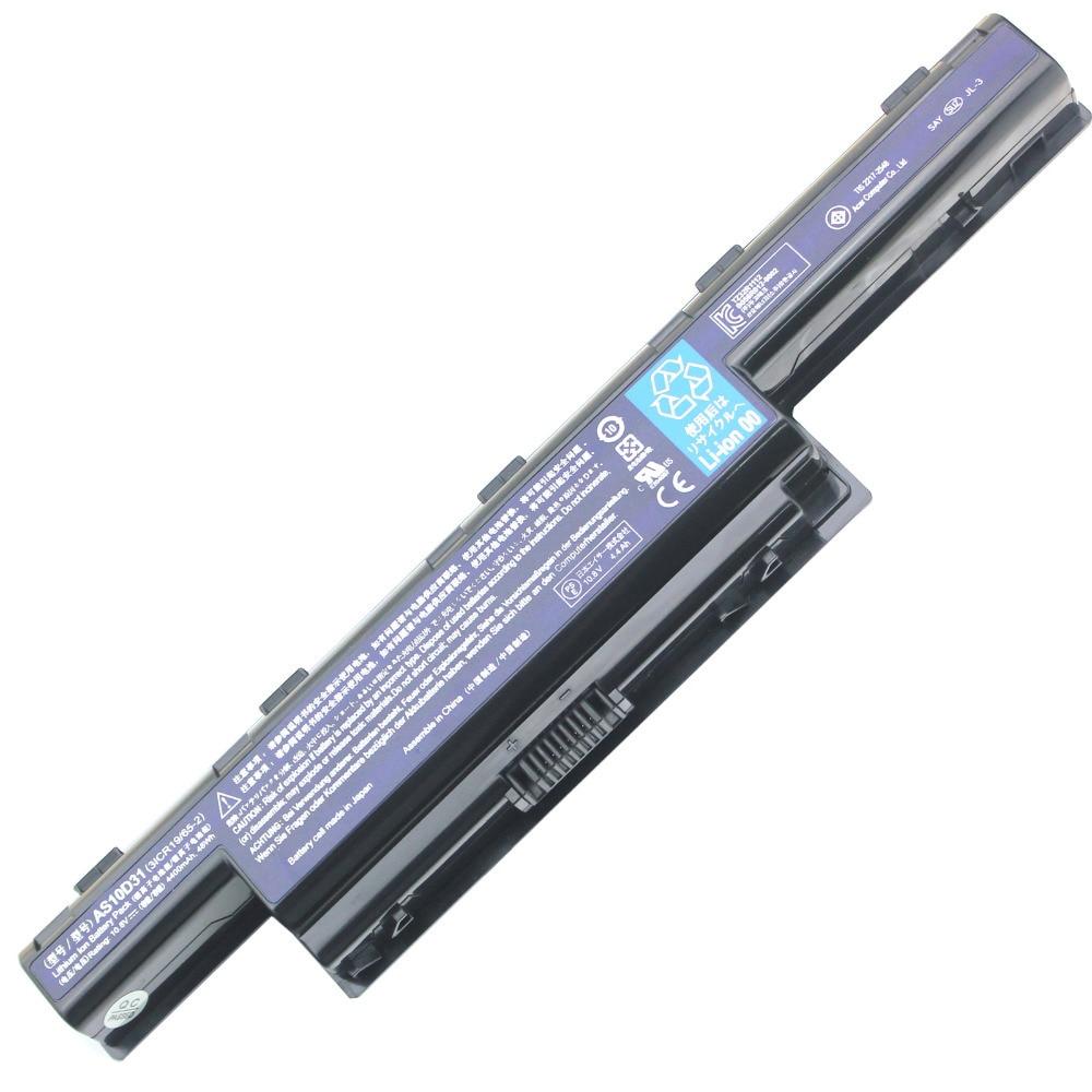 bärbar dator batteri för Acer Aspire V3 5741 5742 5750 5551G 5560G 5741G 5742G 5750G AS10D31 AS10D51 AS10D61 AS10D71 AS10D75 AS10D81