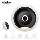 Wistino 960P CCTV VR Panorama Wifi Security IP Camera 360 Degree Home Wireless Baby Monitor Video Audio Surveillance Mini Camera