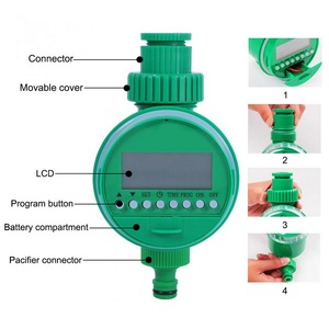 Image 2 - Program Automatic Water Timer Garden Irrigation Controller Home Automatic Watering Device English Version Timer