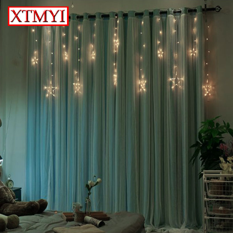 Lovely Custom Blackout Curtains Voile Girls Room Solid Modern Window Curtains For  Living Room Sheer Curtains Shading Drapes In Curtains From Home U0026 Garden On  ...