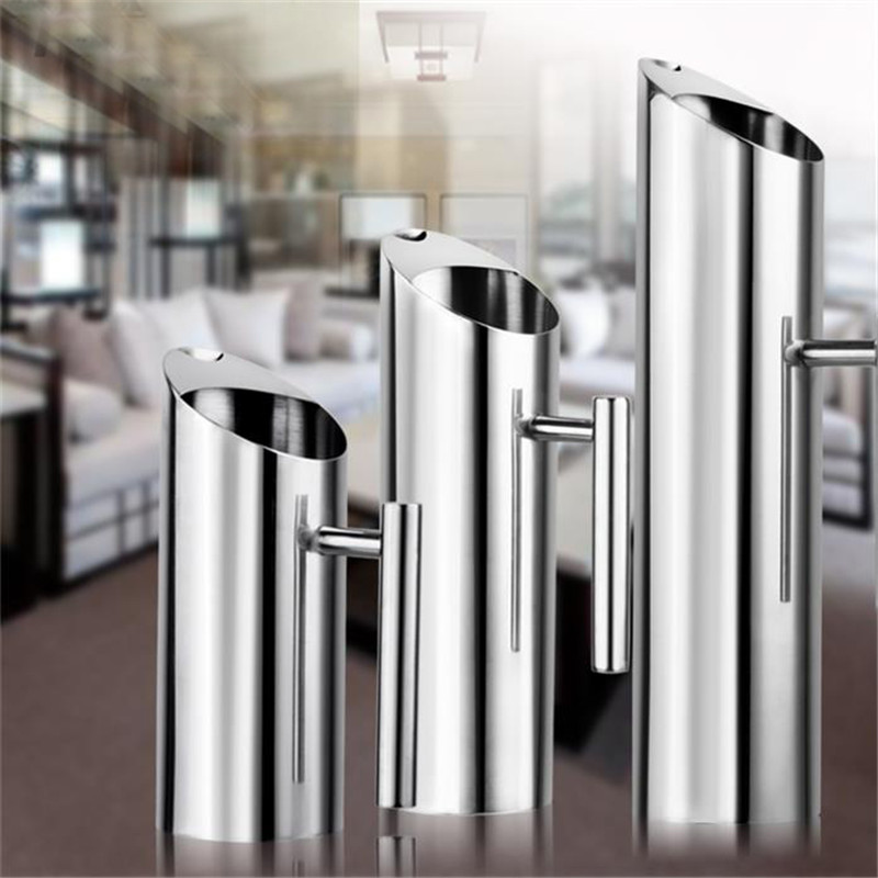 1L/1.5L/2L سعة كبيرة الفولاذ المقاوم للصدأ 304 المطبخ إبريق الماء البارد غلاية بلدي زجاجة ماء مع مقبض القهوة و براد شاي