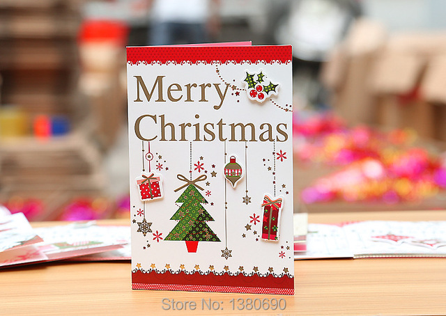 New arrival merry christmas tree greeting cards handmade postcards new arrival merry christmas tree greeting cards handmade postcards birthday gift message card new year thanksgiving m4hsunfo