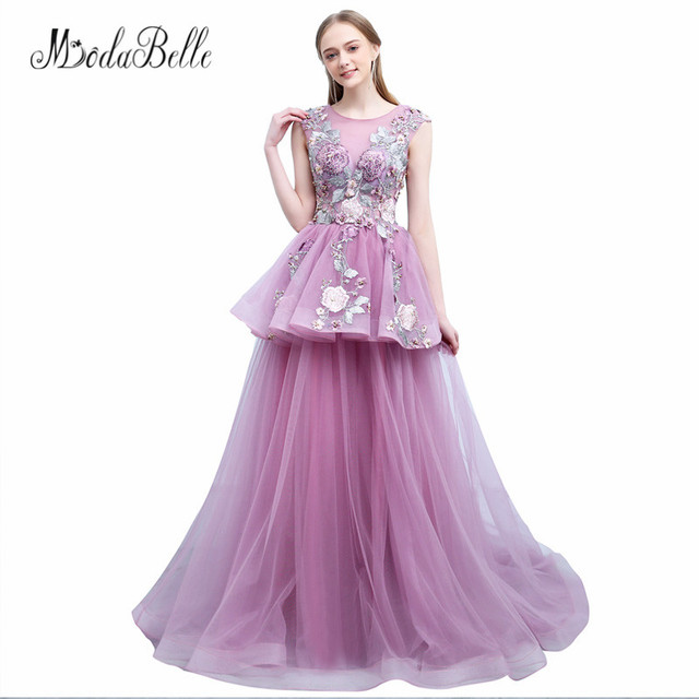 Kleider lang pink