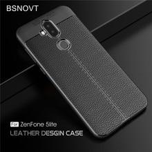 For Asus Zenfone 5 Lite ZC600KL Case Shockproof Leather TPU Anti-knock Phone Case For Asus Zenfone 5 Lite ZC600KL Funda BSNOVT недорого