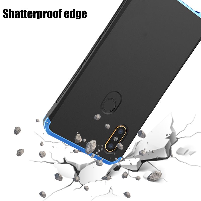 OLLIVAN Phone Cases For Xiaomi Redmi Note 7 Case Cover Metal Frame Hard PC Back Cover For Xiaomi Redmi Note 5 6 Pro Case Fundas redmi note 7 pro cover