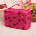 2017 New Cosmetic Bags Dot Necessaire Women Large Capacity Portable Package Quartet Jewelry Organizador Travel Toiletry Bag