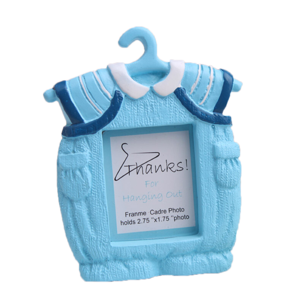 Baby Clothes Shape Photo Frame Newborn Baby Photo Frame Perfect Baby Shower Gift Home & Garden
