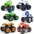 El monstruo del tráfico se deslizan coche de juguete de control remoto monster truck 6 llama y maquinaria