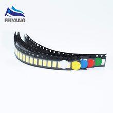 100 Uds 5630 SMD LED 5730 SMT LEDS 20 cada rojo/azul/Verde/amarillo/blanco Color SMD SMT 5730 LED Chip de luz-diodos mixtos