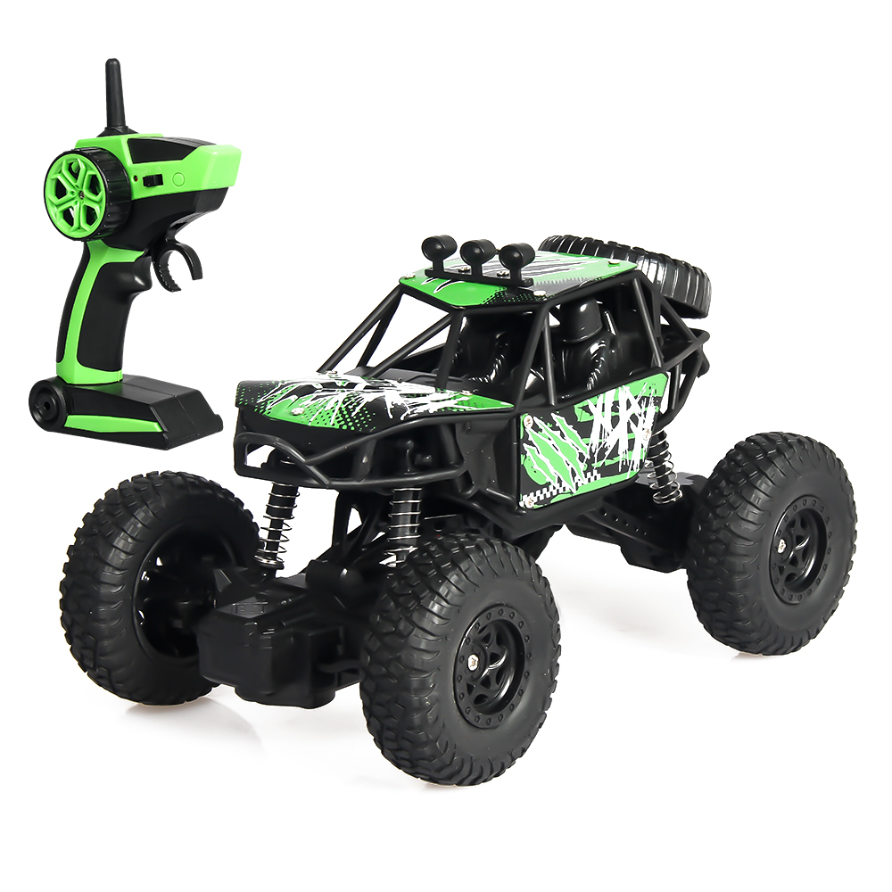 2.4G Four-Wheel Steering RC Off-Road Climbing Car High-Speed Drift RC Car Adapts To Various Terrains Strong Climbing Ability2.4G Four-Wheel Steering RC Off-Road Climbing Car High-Speed Drift RC Car Adapts To Various Terrains Strong Climbing Ability