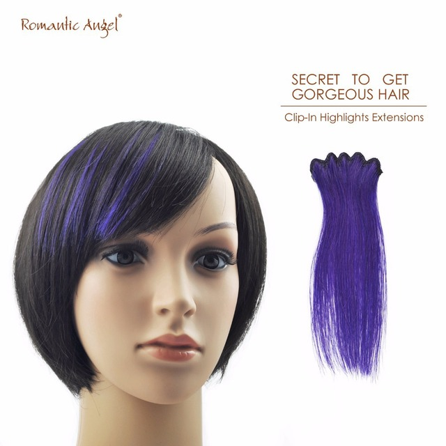 6 Inches15cm 18g High Quality 100 Remy Human Hair Clip In