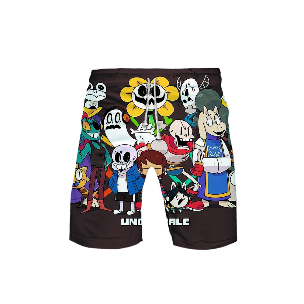 Undertale Sans 3D <font><b>Board</b></font> <font><b>Shorts</b></font> Kids Trunks Summer New Quick Dry Beach Swiming <font><b>Shorts</b></font> Men Harajuku <font><b>Short</b></font> Pants Beach clothes <font><b>6XL</b></font> image