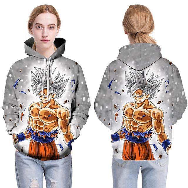 Cartoon hoodie seven Dragon Ball Z pocket hooded sweatshirt  3
