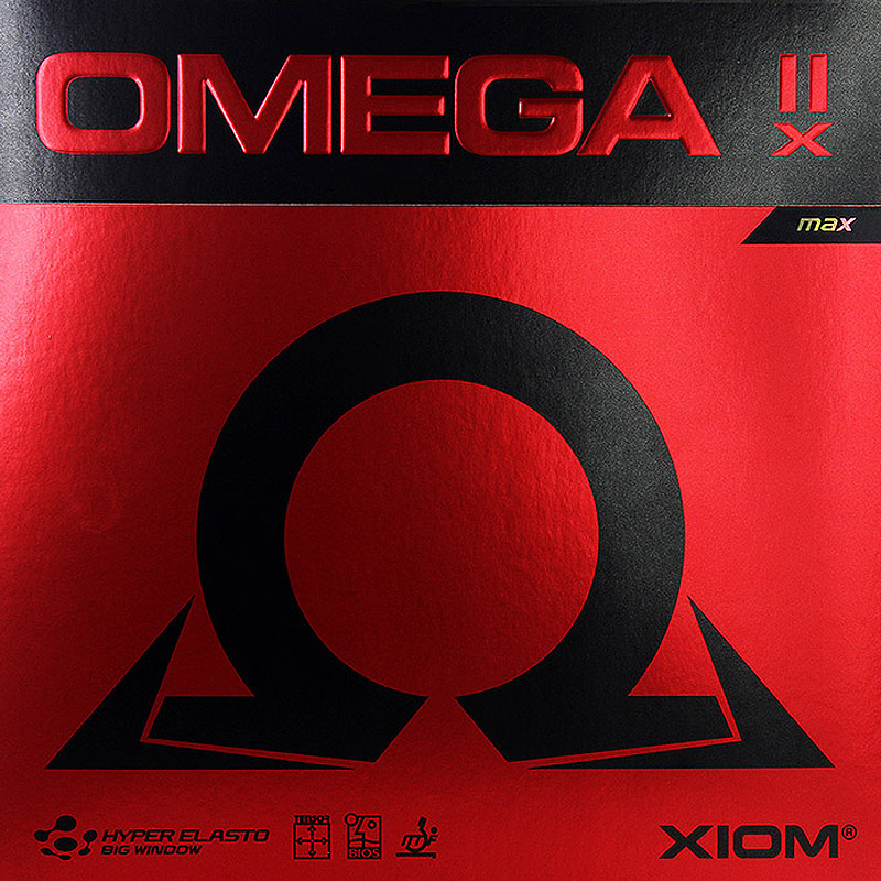 Original Xiom Omega 2 x Professional Table Tennis Rubber Ping Pong Rubber Made In Germany
