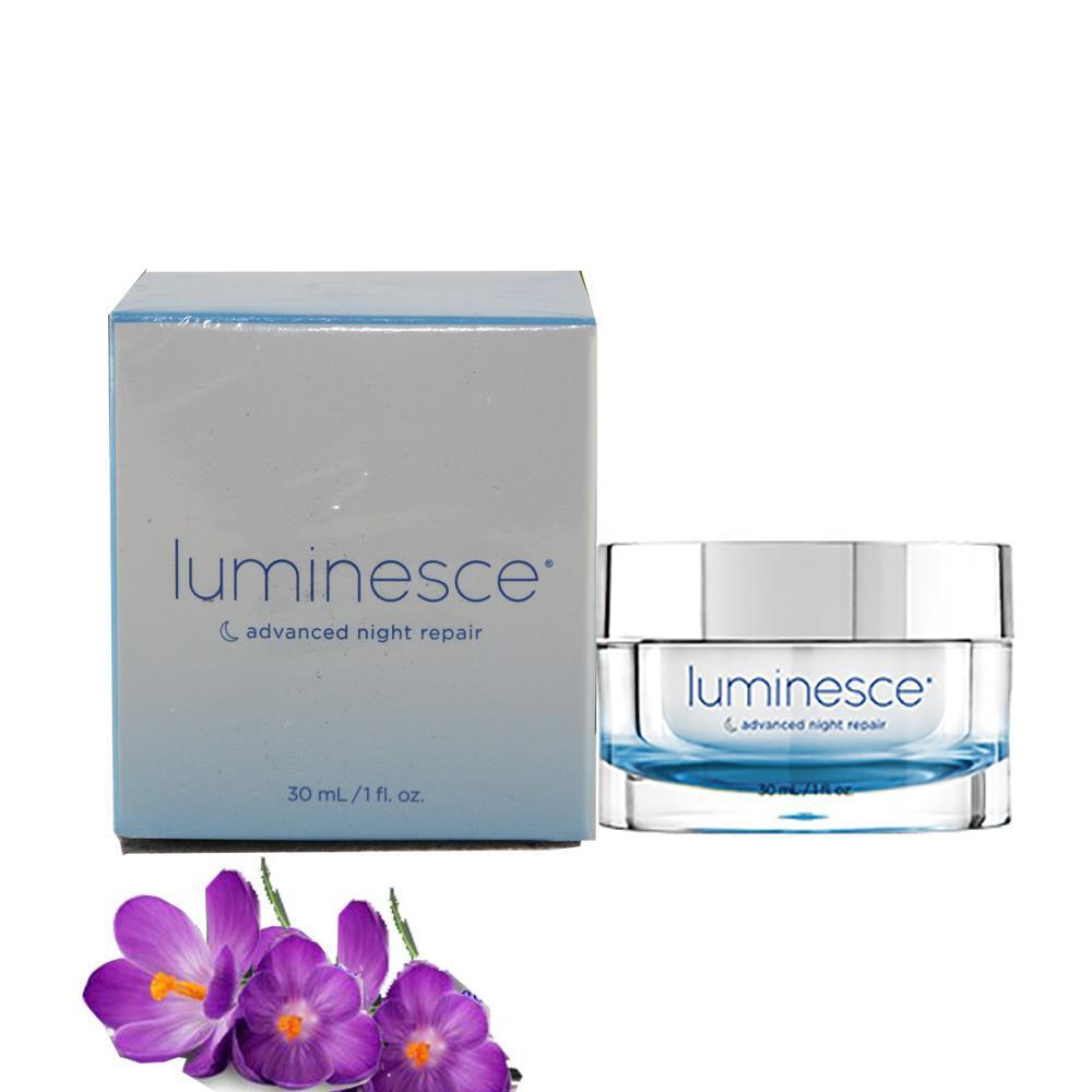Jeunesse Luminesce Advanced Night Cream Repair 1oz / 30mL Fresh New jeunesse luminesce daily moisturizing complex new free u s ship
