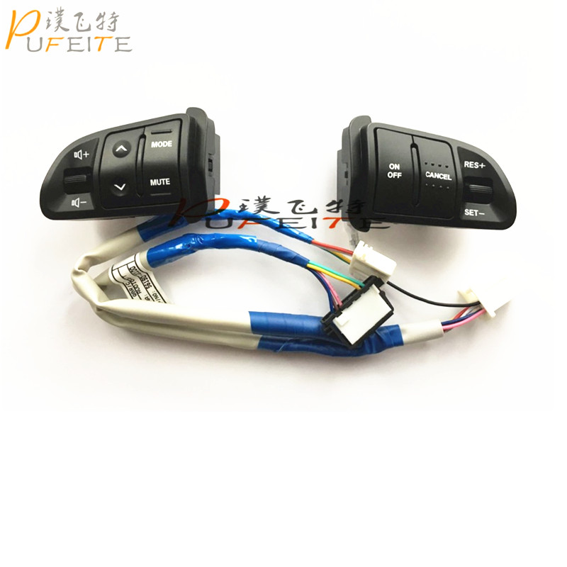 Steering wheel button For KIA Sportager original Steering wheel Audio channel and Constant speed cruise control