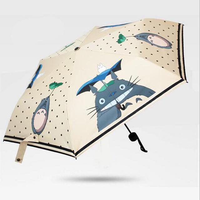 My Neighbor Totoro Folding Anti-UV Umbrella