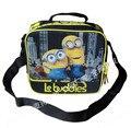 Despicable Me Minions Bag Lunch Box Dos Desenhos Animados Moda Lunchbag Lancheira Alimentos de Piquenique Sacos Térmicos para Crianças Meninos Crianças Escola