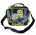 Despicable Me Minions Lunch Bag Box Cartoon Fashion Lunchbag Lunchbox Picnic Food Thermal Bags for Kids Boys Children School