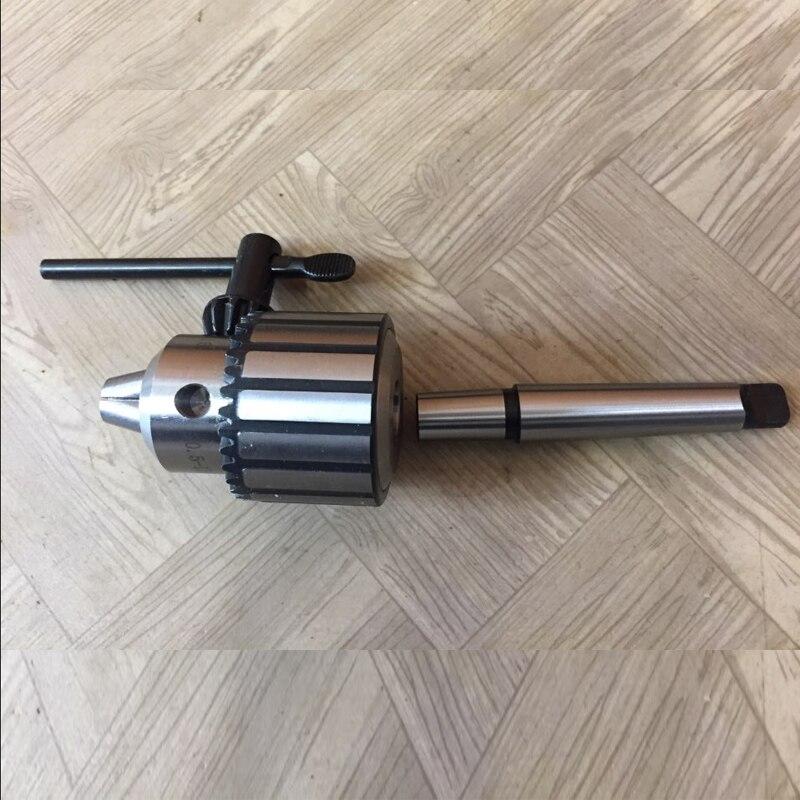 все цены на 1pc Self Tighten Carbide Steel MT2 Mini Drill Chuck Arbor 5/64