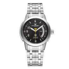 MONTRE Mécanique mens Automatique de luxe horloge mode Hommes étanche Montre d'affaires militaire vintage montre-bracelet top qualité marque