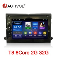 HACTIVOL 7 Octa Core 2G RAM 32G Car radio for Ford F150 F350 F450 F550 F250 Fusion Expedition Edge Android 8.1 car dvd player