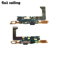 PCB Board Micro USB Charger Dock Connector Charging Port Flex Cable Microphone For HTC M10 U