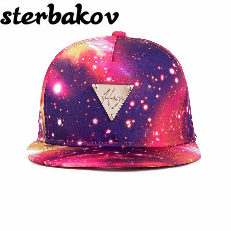 Color Printing Pattern Men Women Hat Hats Baseball Cap Fashion trends Hip Hop Snapback Caps Bone