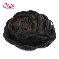 alitsingtaowigs, men toupee super thin skin Vlooped , NG , hair repalacemnt , hair pieces , men wig free shipping