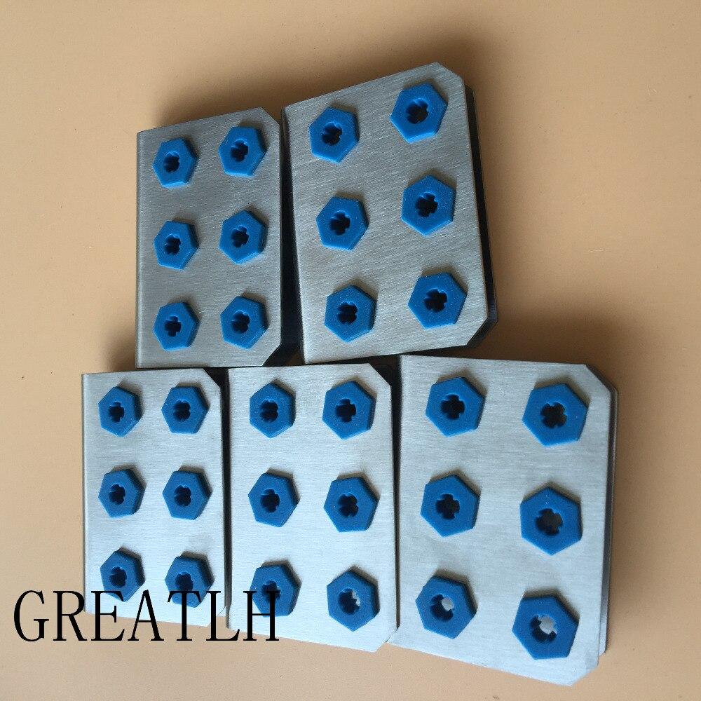 Lego 6 carenages blancs set 7676 40073 60056 7690// 6 white slope inverted 1 x 6