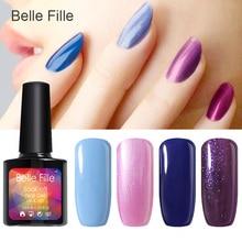 10ml Light Color UV Gel Nail Polish Bling nail gel lacquer Long-lasting Soak-off LED Gel eco-friendly painting gel art fingernai