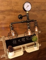 Water pipes WALL lamp pipe wall iron retro loft creative personality creative American country bar SG22