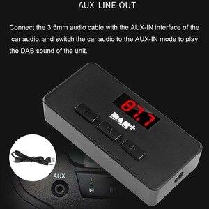 Image 5 - JINSERTA Mini DAB/DAB+ Radio FM Tuner Receiver Stick with LED Display Digital Audio Broadcasting 3.5mm AUX Interface