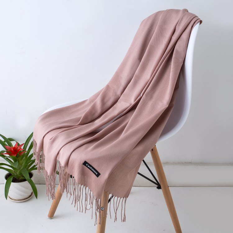 HTB1Ph RXyzxK1RjSspjq6AS.pXaV - Women solid color cashmere scarves with tassel lady winter autumn long scarf high quality female shawl hot sale men scarf