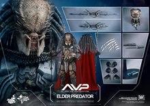 HT HOT TOYS HOTTOYS MMS325 1/6 AVP Alien VS Predator 2 Elder Predator 2.0 12″ Collectible Action Figure