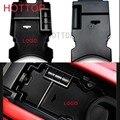 Черный ABS Центральной Консоли Подлокотник Коробка Для Хранения Для Honda/Civic 10-й/Gen 2016 2017