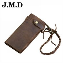 JMD 2017 Brand Hot Sale Comfortable Design Genuine Leather Wallet Compartment Men Long Wallet Purse Clutch Quality Handbag JD005