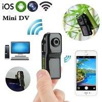 Mini MD81S Outdoor Portable Camera Mini DV IP Camera HD Micro Wireless Baby Video Monitors With 8GB Card
