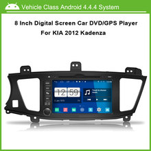 8 Inch 1024*600 Multi-touch Capacitive Touch Screen Car DVD GPS for Kia 2012 Cadenza Android ,Speed 3G, enjoy the built-in WiFi