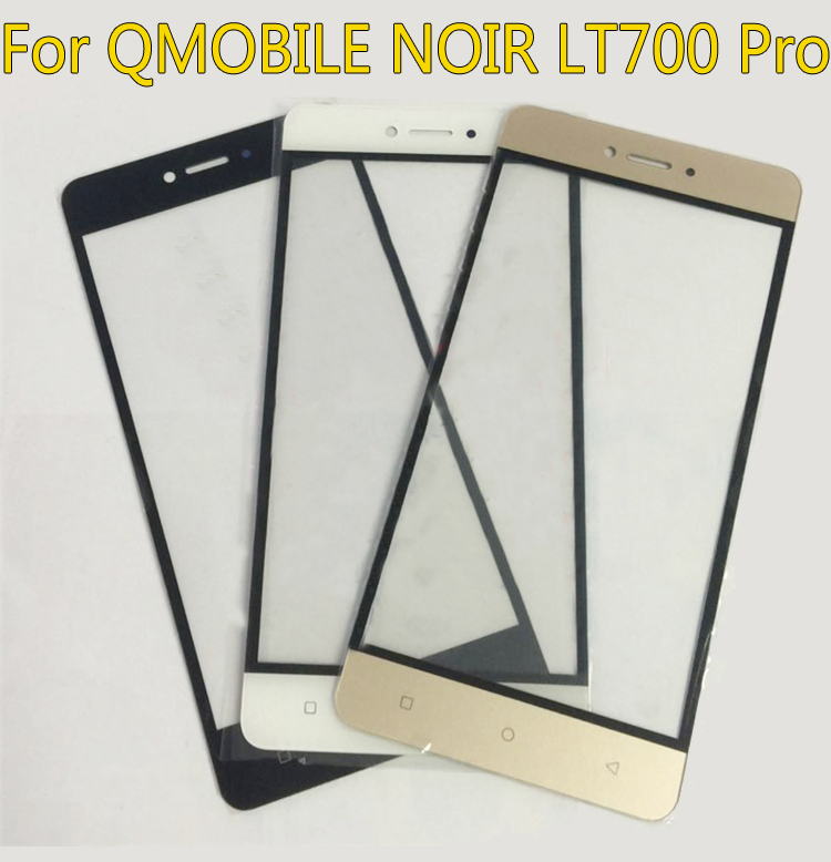 New Touchscreen Sensor Touch Screen Digitizer For QMOBILE NOIR LT700 pro Discovery Air Mobile Phone Touch Panel Glass/Just glass