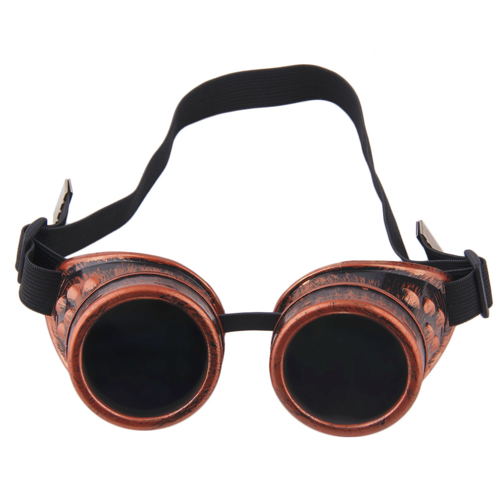 2018 Retro Cyber Goggles Glasses Vintage Welding Punk Sunglasses Cyber Glasses