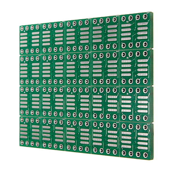 2017 New Electronic circuit 20 PCS SOP8 SO8 SOIC8 <font><b>SMD</b></font> to DIP8 Adapter <font><b>PCB</b></font> Board Converter Double Sides 0.65mm/1.27mm image