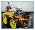 Kit para Arduino Smart Car Robot Chassis terno de Rastreamento Do Bluetooth Compatível UNO R3 KIT DIY RC Eletrônico Frete Grátis