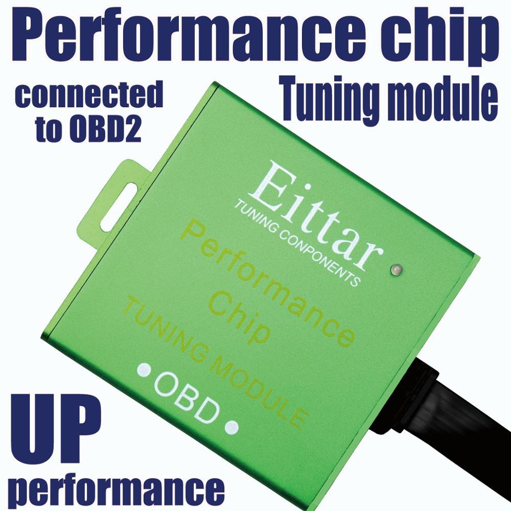 Eittar Obd2 Obdii Prestaties Chip Tuning Module Uitstekende Prestaties Voor Toyota Land Cruiser 2003 +